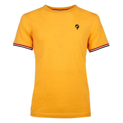 Men's T-shirt Katwijk  -  Ochre Yellow