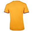 Q1905 Heren T-shirt Katwijk  -  Okergeel