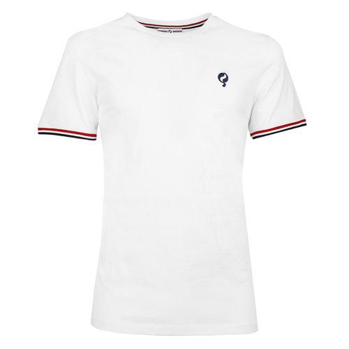 Heren T-shirt Katwijk  -  Wit