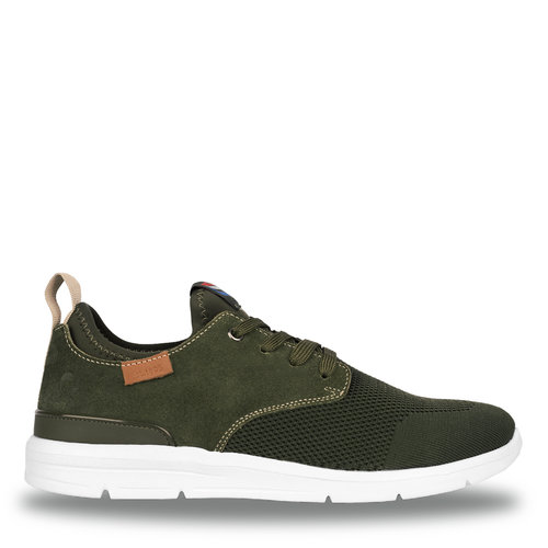 Heren Sneaker Woudenberg  -  Legergroen