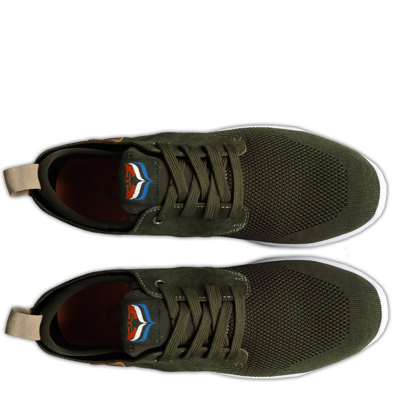 Q1905 Men's Sneaker Woudenberg  -  Army Green