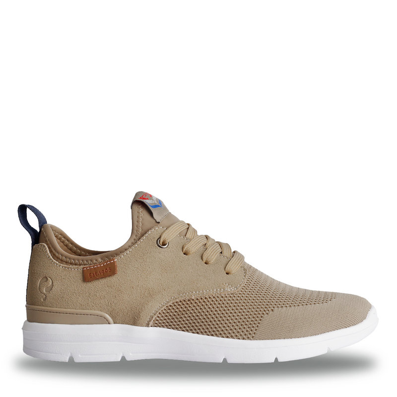 Q1905 Heren Sneaker Woudenberg  -  Taupe