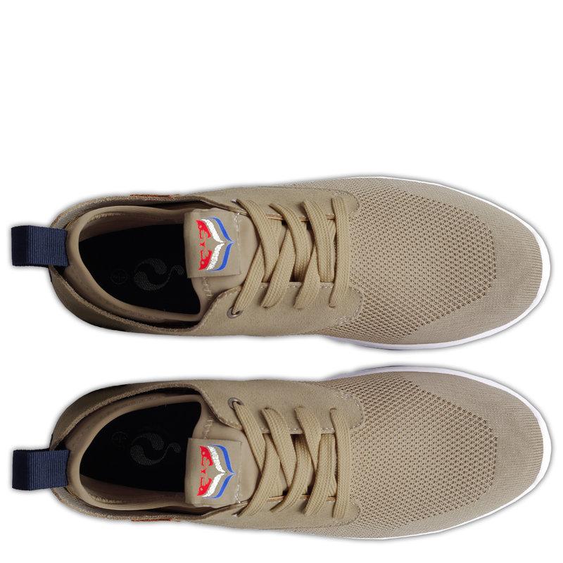 Q1905 Heren Sneaker Woudenberg  -  Taupe
