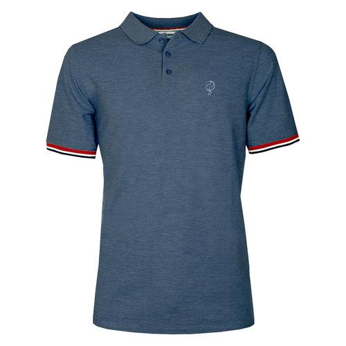 Men's Polo Bloemendaal  -  Denim Blue