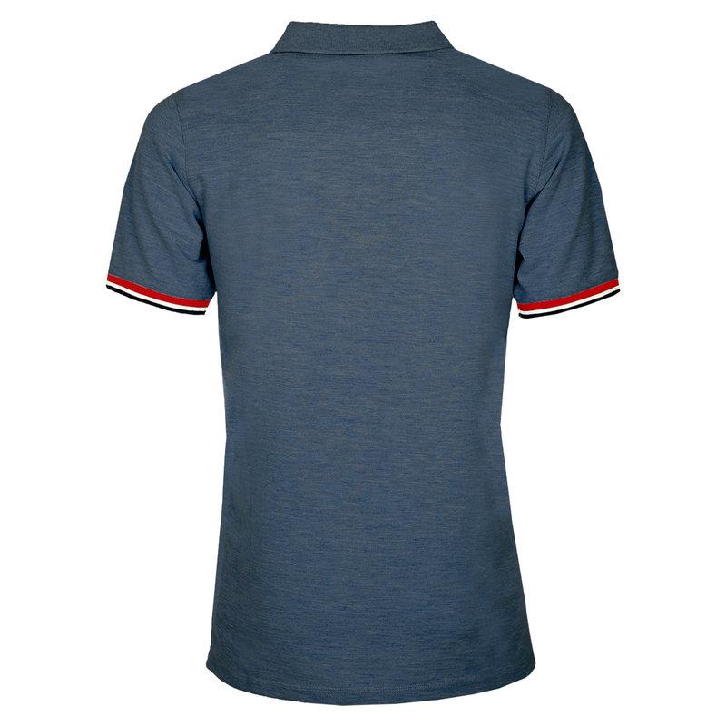 Q1905 Men's Polo Bloemendaal  -  Denim Blue