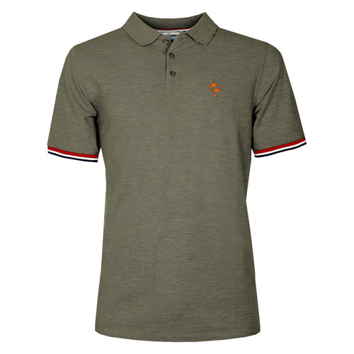 Men's Polo Bloemendaal  -  Khaki Green