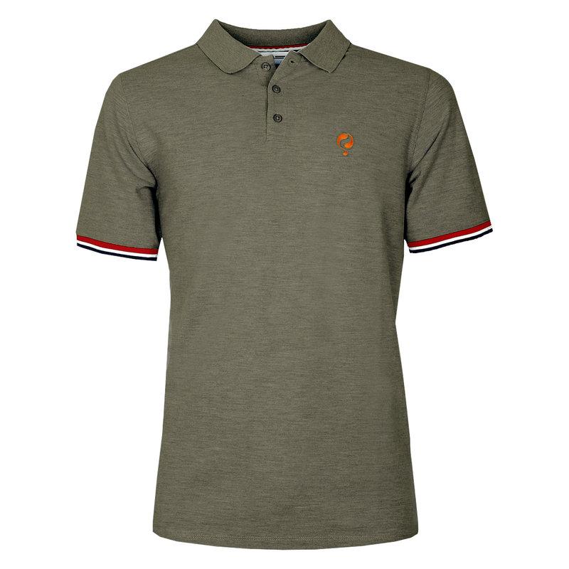 Q1905 Men's Polo Bloemendaal  -  Khaki Green