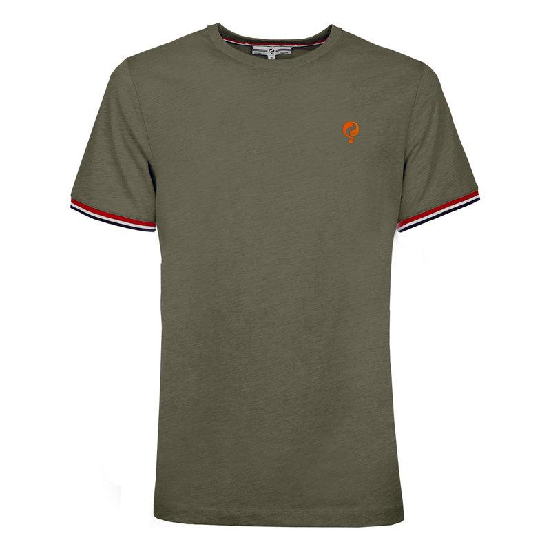 Q1905 Men's T-shirt Katwijk  -  Khaki Green