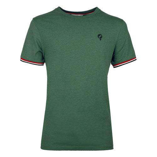 Heren T-shirt Katwijk  -  Zeegroen