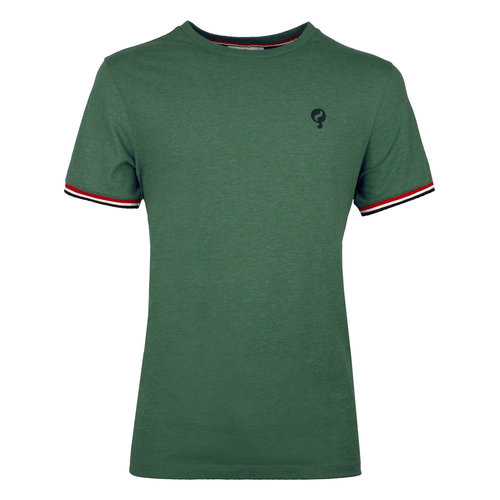 Men's T-shirt Katwijk  -  Sea Green