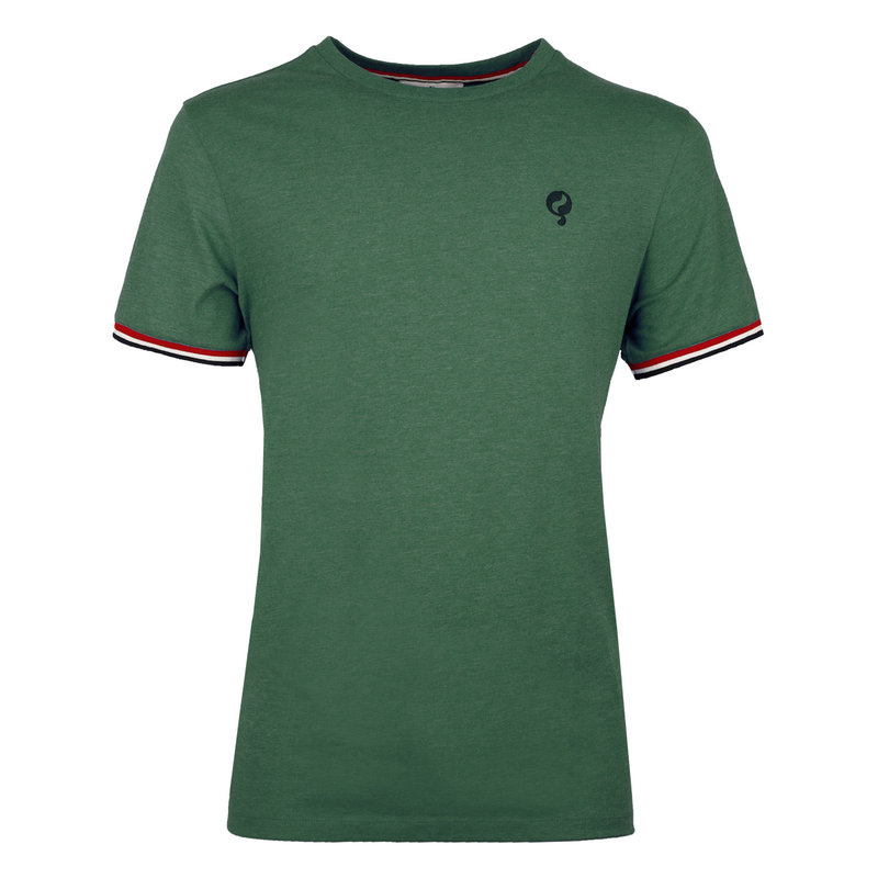 Q1905 Heren T-shirt Katwijk  -  Zeegroen