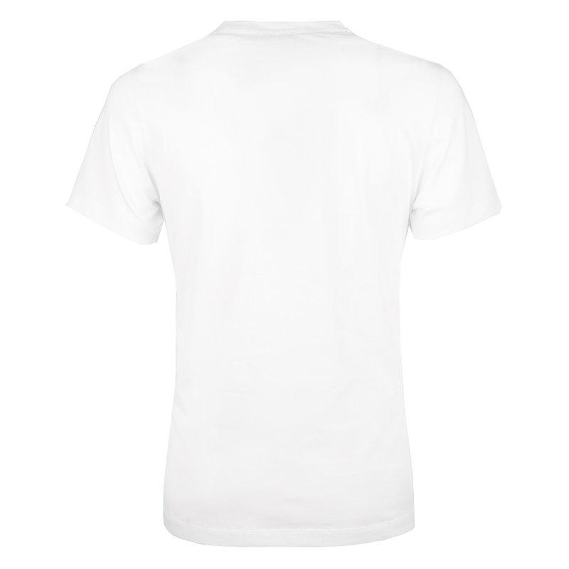 Q1905 Heren T-shirt Texel  -  Wit