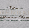 Q1905 Heren T-shirt Texel  -  Lichtgrijs