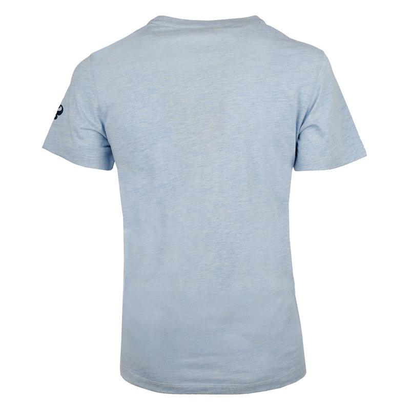 Q1905 Heren T-shirt Texel  -  Hemelsblauw