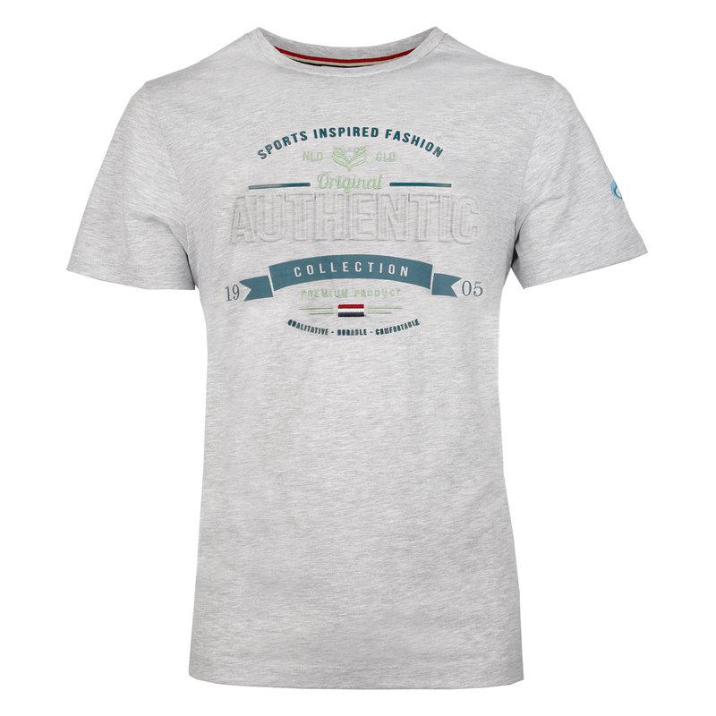 Q1905 Men's T-shirt Domburg  -  Light Grey