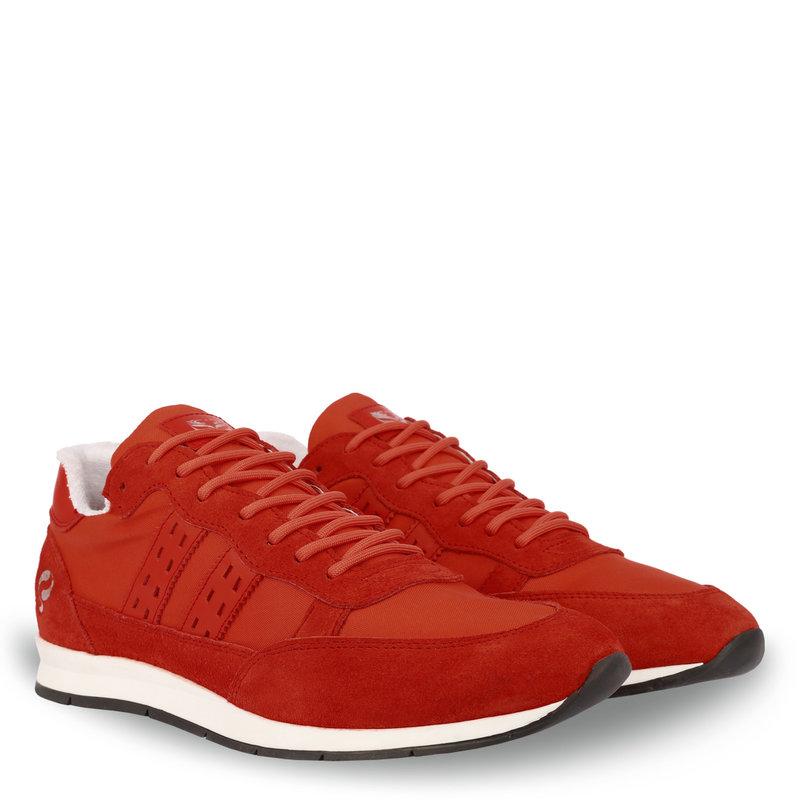 Q1905 Heren Sneaker Kijkduin  -  Oranje