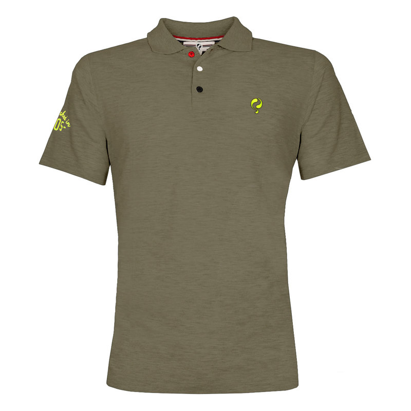 Q1905 Men's Polo Willemstad  -  Khaki Green