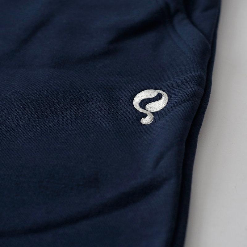 Q1905 Heren Sweatshort Zevenbergen  -  Donkerblauw