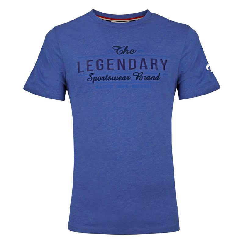 Q1905 Men's T-shirt Texel  -  Hard Blue