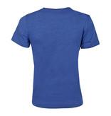 Q1905 Heren T-shirt Texel  -  Hard Blauw