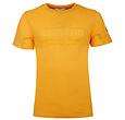 Q1905 Heren T-shirt Texel  -  Okergeel