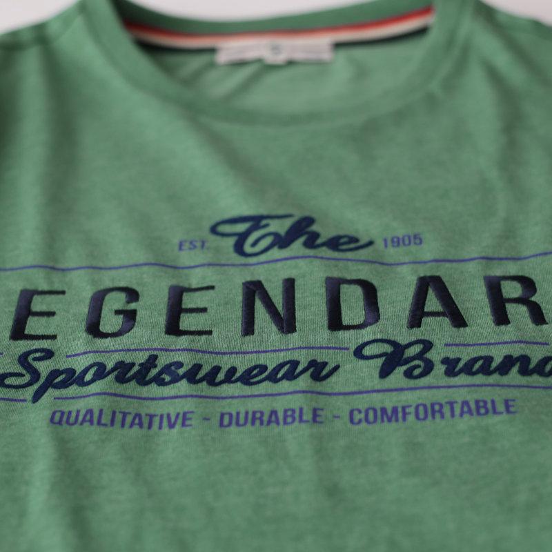 Q1905 Men's T-shirt Texel  -  Sea Green