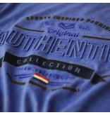 Q1905 Heren T-shirt Domburg  -  Hard Blauw