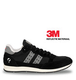 Q1905 Heren Sneaker Kijkduin  -  Zwart