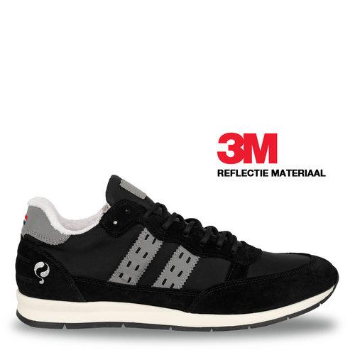 Heren Sneaker Kijkduin  -  Zwart