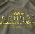 Q1905 Heren T-shirt Texel  -  Kakigroen