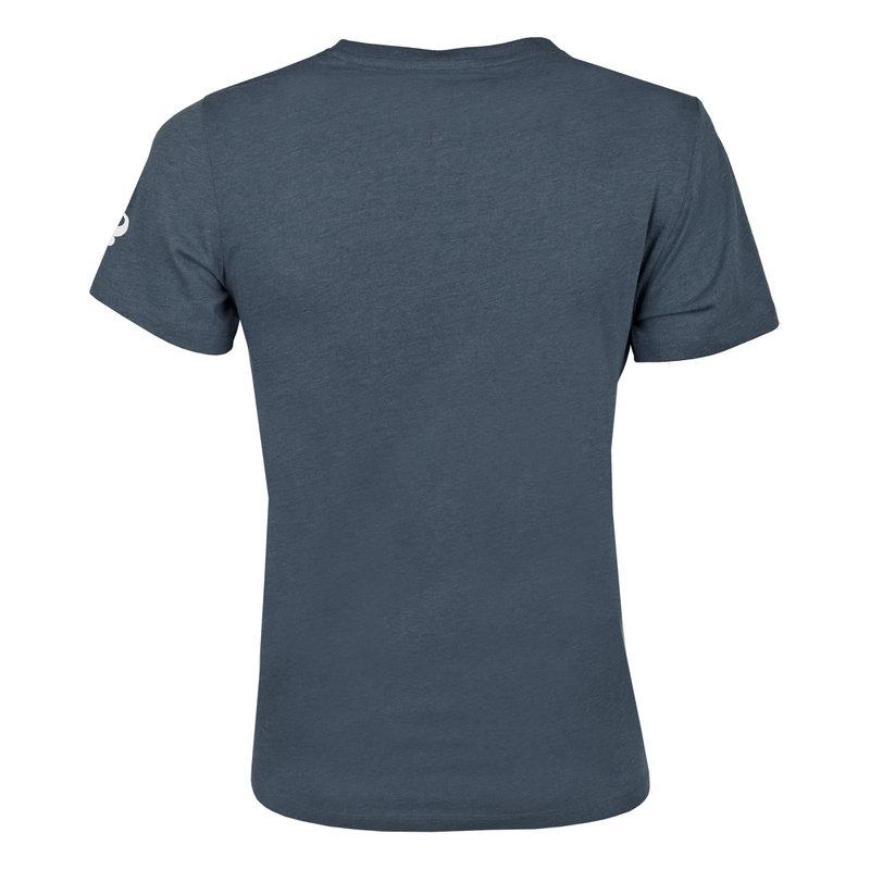 Q1905 Heren T-shirt Texel  -  Denim Blauw