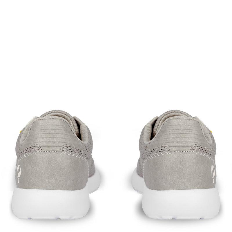 Q1905 Heren Sneaker Zaanstad  -  Lichtgrijs