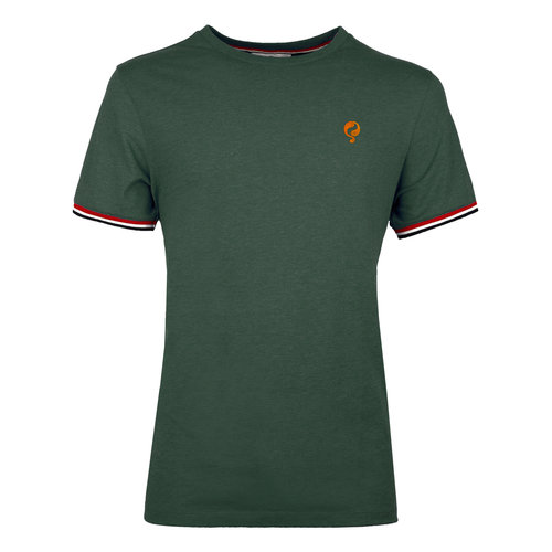 Men's T-shirt Katwijk  -  Dark Green