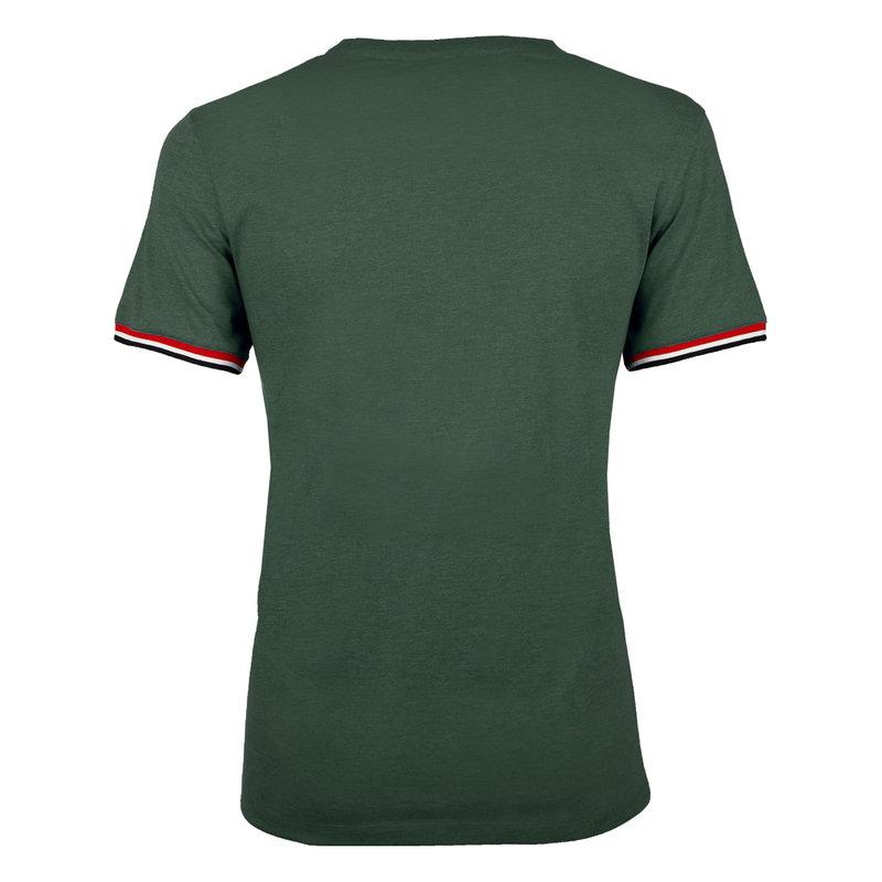 Q1905 Heren T-shirt Katwijk  -  Donkergroen