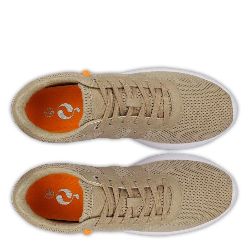 Q1905 Heren Sneaker Zaanstad  -  Taupe