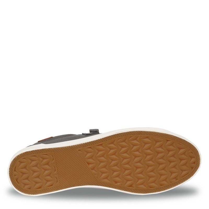 Q1905 Heren Sneaker Laren  -  Donkergrijs