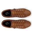 Q1905 Heren Sneaker Laren  -  Cognac (Lederlook)