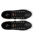 Q1905 Men's Sneaker Laren  -  Black (Leatherlook)