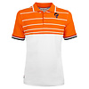 Q1905 Men's Polo JL Swing  -  White/Orange