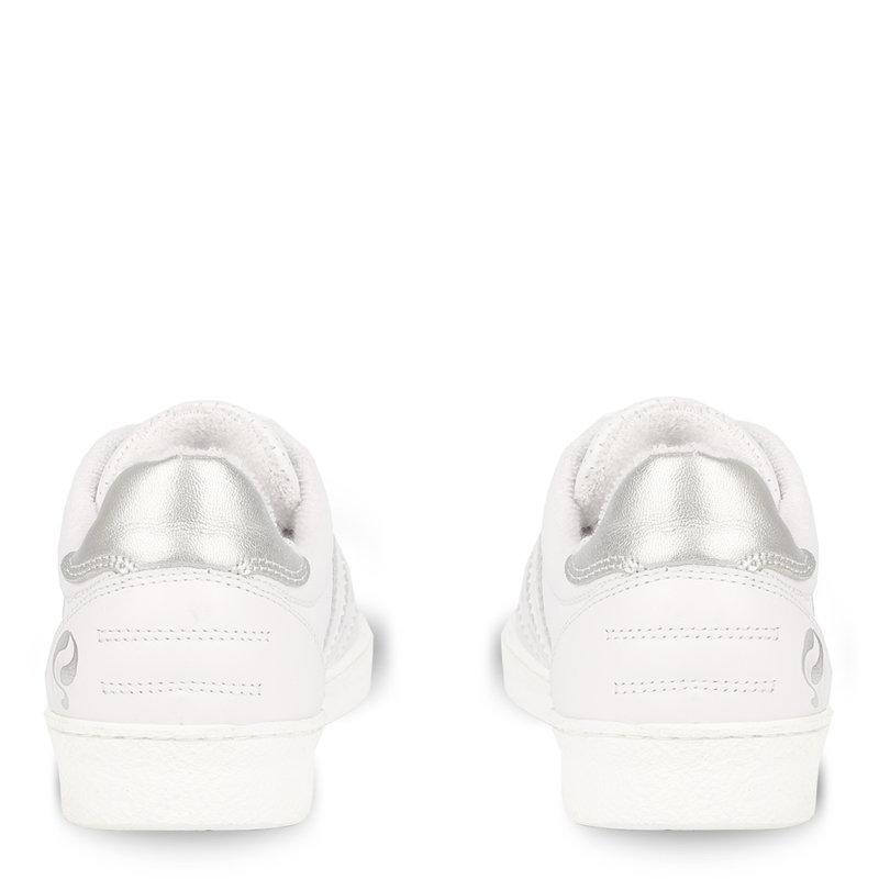 Q1905 Women's Sneaker Titanium  -  White/Silver