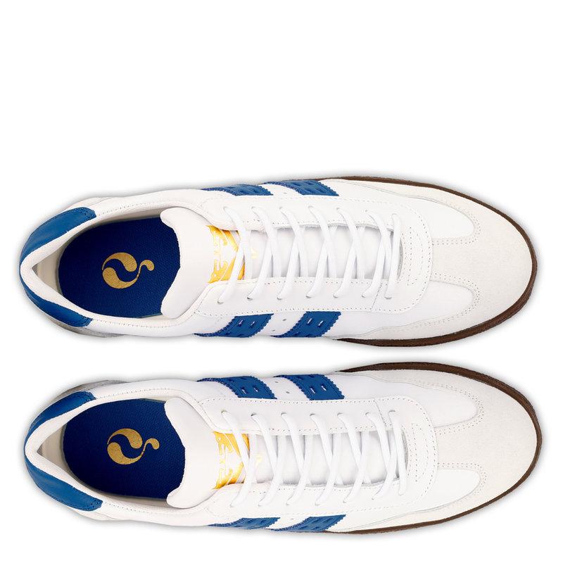 Q1905 Heren Sneaker Titanium  -  Wit/Hard Blauw