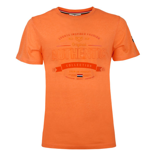 Heren T-shirt Domburg  -  Oranje
