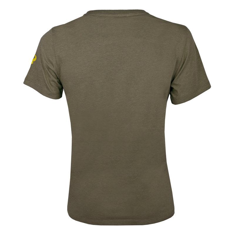 Q1905 Heren T-shirt Domburg  -  Kakigroen