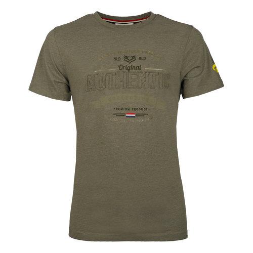 Heren T-shirt Domburg  -  Kakigroen