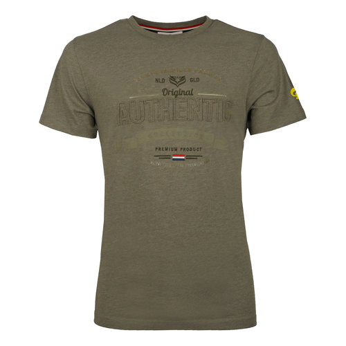 Men's T-shirt Domburg  -  Khaki Green