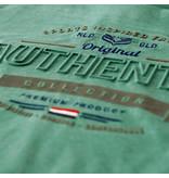 Q1905 Heren T-shirt Domburg  -  Zeegroen