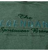 Q1905 Heren T-shirt Texel  -  Donkergroen