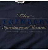 Q1905 Heren T-shirt Texel  -  Donkerblauw