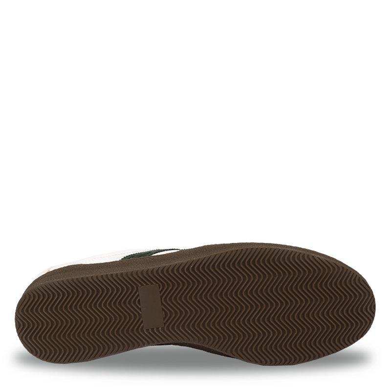 Q1905 Heren Sneaker Titanium  -  Wit/Donkergroen