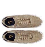 Q1905 Heren Sneaker Titanium  -  Taupe/Donkerblauw